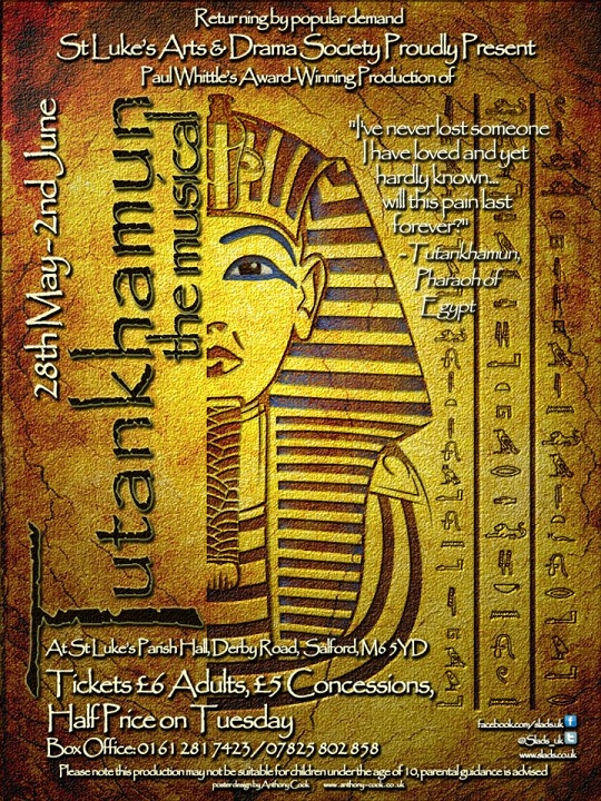 Tutankhamun the musical 2012